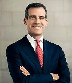 Eric Garcetti  Mayor of Los Angeles
