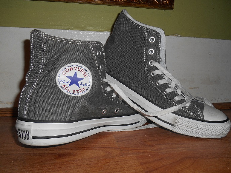 how to clean dirty polar blue converse shoes