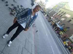 Te-Erika Patterson in Downtown LA