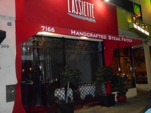 Steak Frites West Hollywood Door