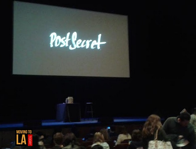 PostSecret Live Los Angeles
