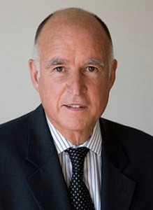 Jerry Brown Governor of Los Angeles