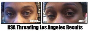 KSA Threading Los Angeles RESULTS 2