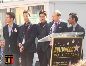 New Kids Walk of Fame Hollywood