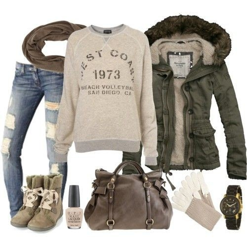COLD WEATHER CLOTHES